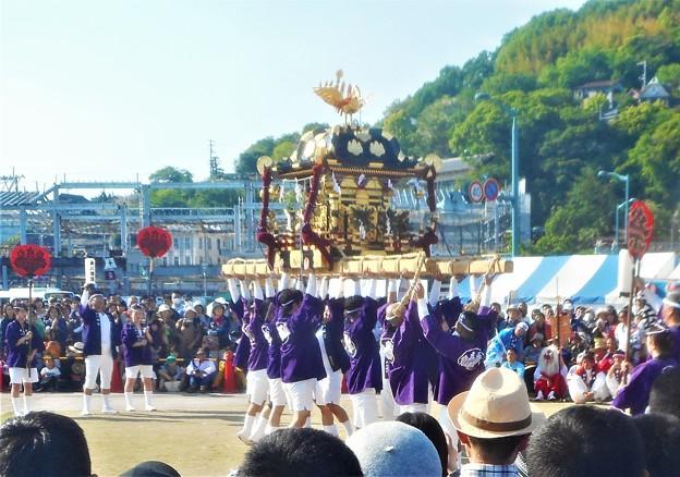 みこしの祭典@尾道みなと祭@東八幡宮の神輿