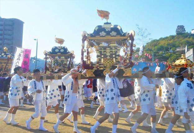 神輿(みこし)の祭典@御袖天満宮・亀森八幡神社(向島)など
