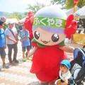 ばらの妖精ローラちゃんは人気者@緑町公園@福山ばら祭