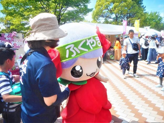 イメージキャラ・ばらの妖精ローラちゃんは超カワユイ@緑町公園@福山ばら祭