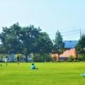 写真: とても平和な日曜日@夏至の三日後@梅雨の晴れ間の公園にて