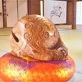 大方丈の大きな木魚@秋の佛通寺
