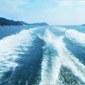 Photos: 水平線の彼方から@夏の船旅@瀬戸内海・燧灘