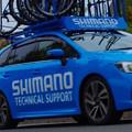 写真: SHIMANOサポートカー