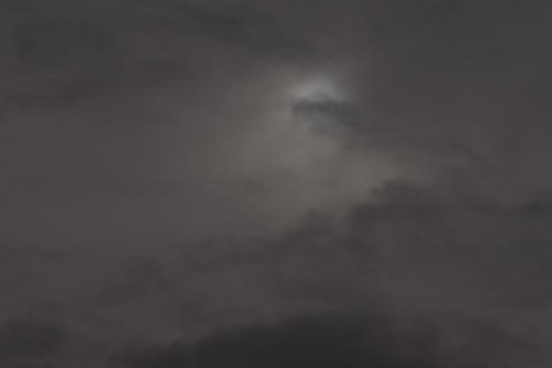 写真: 消えた傘雲(^^;