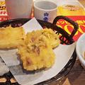 Photos: 夢庵 ( 成増店 ) もちの天ぷら   2018/09/26