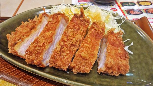 ガスト ( 成増店 ) 豚ロースのとんかつ   2017/10/23