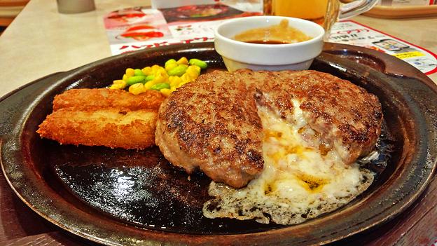 ガスト ( 成増店 ) チーズ IN ハンバーグ 2018/12/20
