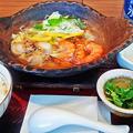 大戸屋( 成増店 ) 海老と帆立の香草レモン鍋定食       2018/12/29