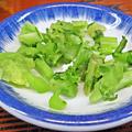 やまだや ( 成増 = やまだ食堂 ) 青菜漬け ( とん汁定食風 ) 2019/03/12