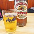 Photos: やまだや ( 成増 = やまだ食堂 ) ビール ( キリン・ラガー )  2019/03/12