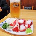 やまだや ( 成増 = やまだ食堂 ) 生ビール ( 中ジョッキ )  2019/03/12