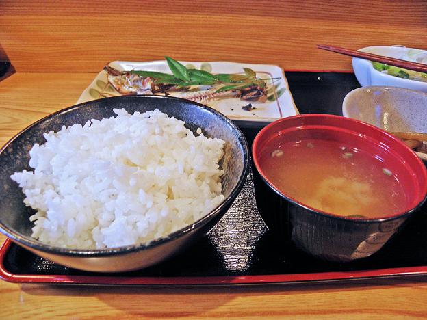 だいこん ( 練馬区旭町 or 成増 ) 焼魚定食( ご飯 + 味噌汁 ) 2019/03/16