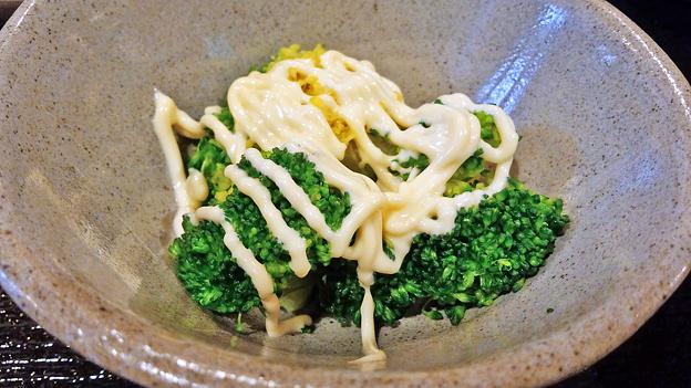 だいこん ( 練馬区旭町 or 成増 ) 焼魚定食 ( ブロッコリー ) 2019/03/30
