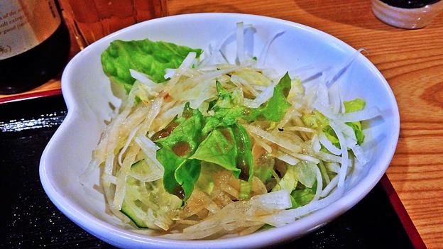 だいこん ( 練馬区旭町 or 成増 ) 焼魚定食 ( だいこんサラダ ) 2019/03/30