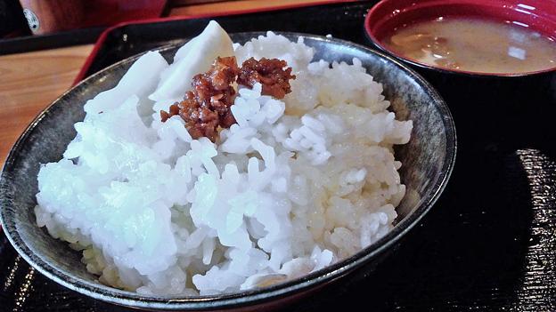 だいこん ( 練馬区旭町 or 成増 ) ご飯 ( 焼魚定食 )     2019/05/18