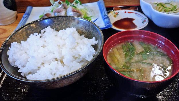 だいこん ( 練馬区旭町 or 成増 ) いわしの酢じめ定食 ( 部分 ) 2019/07/06