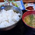 Photos: だいこん ( 練馬区旭町 or 成増 ) いわしの酢じめ定食 ( 部分 ) 2019/07/06