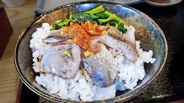 だいこん ( 練馬区旭町 or 成増 ) いわし海鮮丼 ( いわしの酢じめ定食 ) 2019/07/06