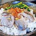 Photos: だいこん ( 練馬区旭町 or 成増 ) いわし海鮮丼 ( いわしの酢じめ定食 ) 2019/07/06