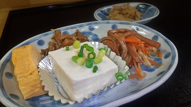 花水木 ( 成増 ) 付け合わせ ( 定食 )  2019/07/26