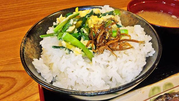 だいこん ( 練馬区旭町 or 成増 ) ご飯 ( 焼魚定食 )     2019/07/20