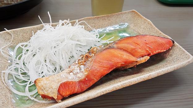 やまだや ( 成増 = やまだ食堂 ) 焼き鮭  2019/07/31