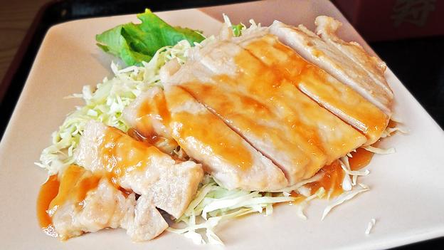 だいこん ( 練馬区旭町 or 成増 ) 豚ロースみそソテー     2019/09/07