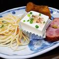 Photos: 花水木 ( 成増 ) 付け合わせ ( 焼き魚定食 )  2019/09/17