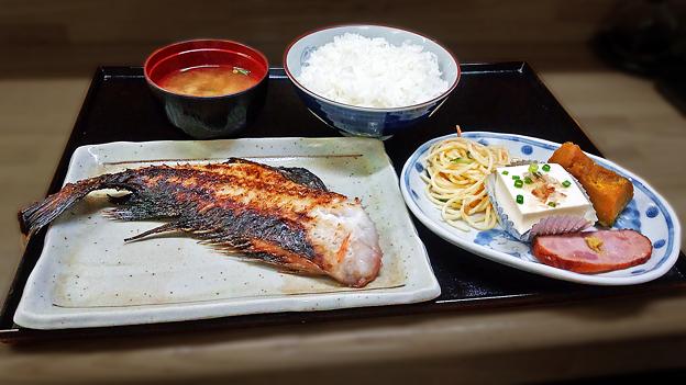花水木 ( 成増 ) 焼き魚定食 ( アコウダイ )  2019/09/17