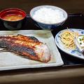 Photos: 花水木 ( 成増 ) 焼き魚定食 ( アコウダイ )  2019/09/17