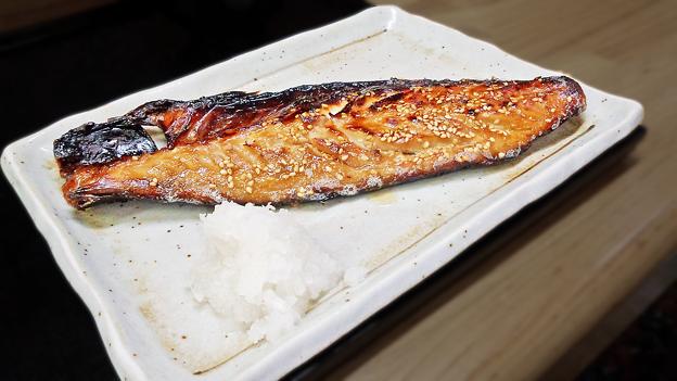 花水木 ( 成増 ) 鯖 ( 焼き魚定食 )  2019/09/17