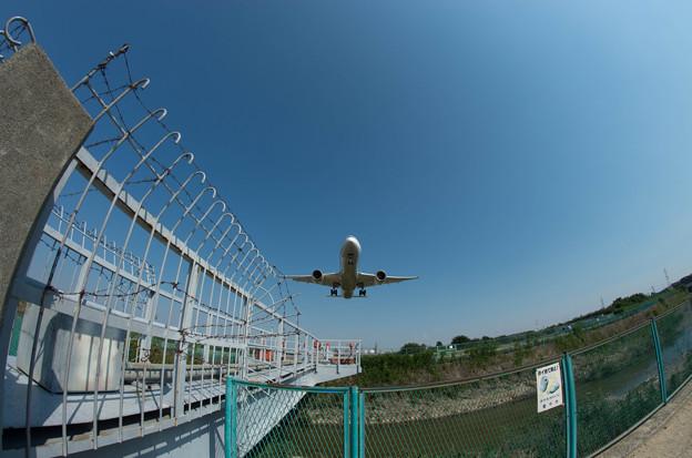 伊丹空港ランディング2