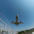 伊丹空港ランディング3