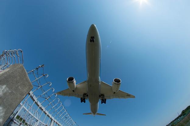 伊丹空港ランディング4