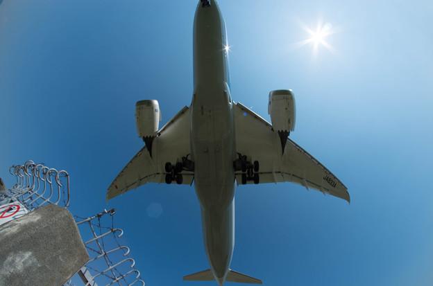 伊丹空港ランディング6