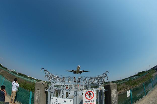 伊丹空港ランディング9