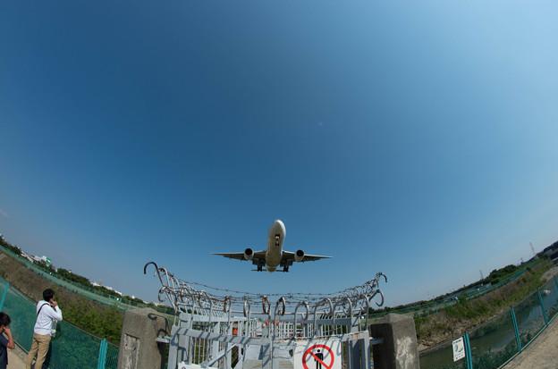 伊丹空港ランディング10