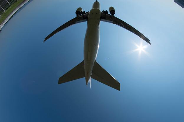 伊丹空港ランディング18