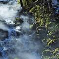 写真: 温泉の滝 さすらいの旅日記から