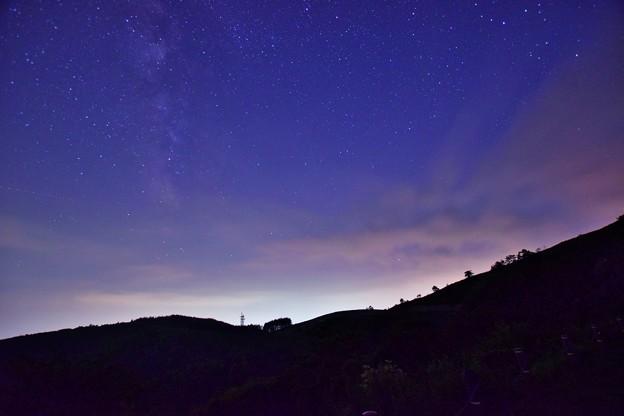 写真: 霧ヶ峰の星空