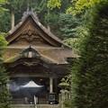 写真: 駒ヶ根光前寺の本堂