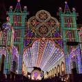 写真: ルミナリエ、光の宮殿