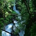 夕森公園の竜神の滝