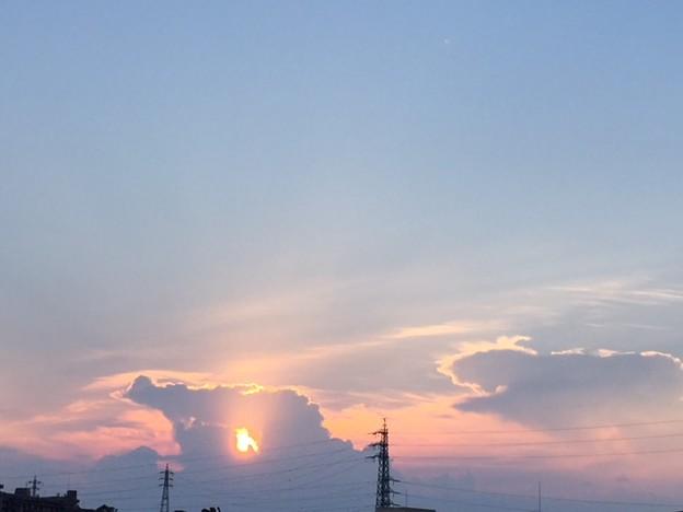 空と雲2018.8.1