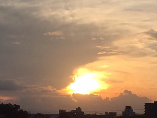 写真: 夕焼け2018.10.14