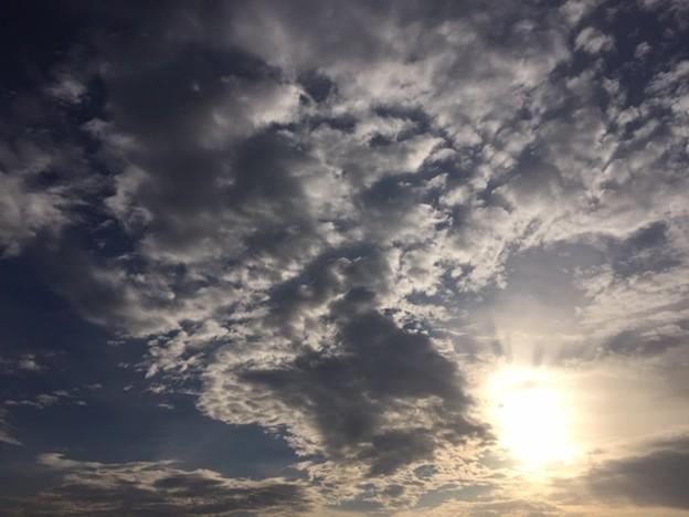朝の空2018.12.3