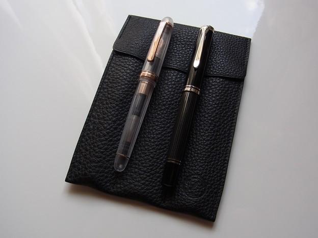 Pen and message.オリジナル ペンレスト兼用万年筆ケース