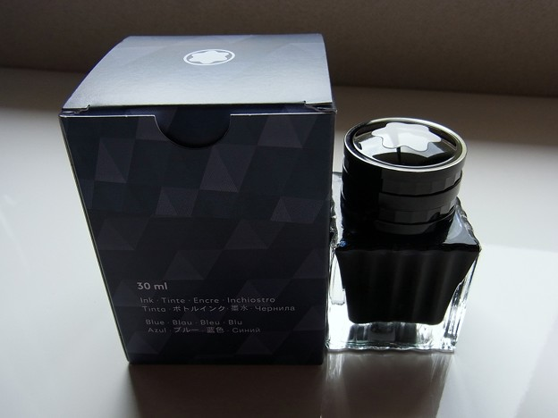 Montblanc Twilight Blue Ink #2
