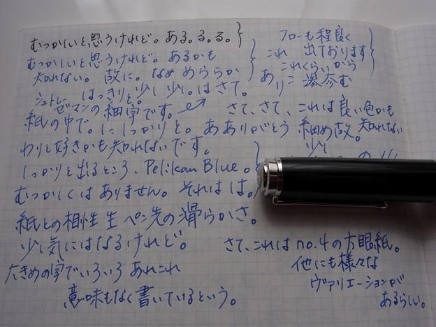 Pelikan M805 Stresemann handwriting #4